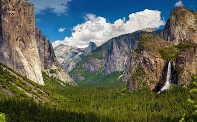 Yosemite valley sightseeing tours